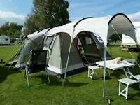 Outwell tent with many extras