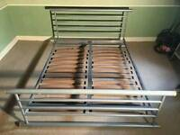 JAY- BE GALAXY metal double bed frame