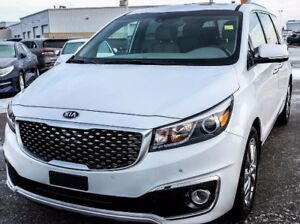 2017 Kia Sedona SXL Low KM Loaded