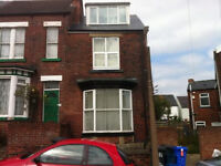 4 DOUBLE BEDROOMED end-terraced student accommodation in excellent location. AVAILABLE FROM JULY