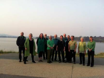 Singers for environmental choir in the ACT - Ecopella