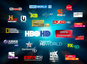 PREMIUM IPTV $150 FOR 12 MTH ACCESS - UP TO 3 DEVICES!