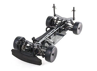 BLAZE 1/10 TOURING CAR FULL CARBON FIBER RACE CHASSIS RZ4 ASSEMBLED KIT 4WD RC