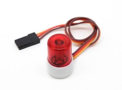 Police Car Style LED Light Beacon Red for RC Pursuit Car, Truck, Buggy US Seller - Red Police Beacon