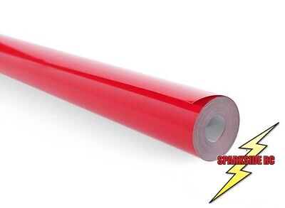 Red Model Covering Film, RC Aircraft, 2.5m x 640mm