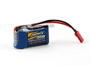 Zippy Flightmax 350mAh 2S 7.4V 20C Lipo Battery Pack JST-XH Mini JST Plug USA