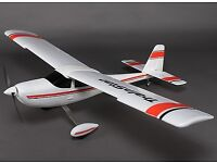 Large ready to fly aircraft with DX6i controller