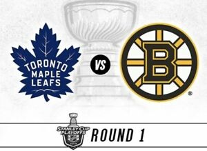 Toronto Maple Leafs Game 4 Boston Bruins Wed April 17 Round 1