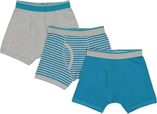 Baby Jay Teal Tagless Cotton Boys Briefs 3 Pack Ultra Soft Boys Underwear 333526