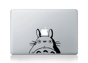 Totoro Vinyl Art Sticker Laptop Computer Skin For Apple Macbook 13