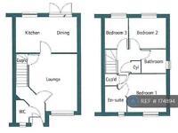 3 bedroom house in Buttercream Close, Peterborough, PE2 (3 bed)