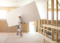 Experienced drywall installer for hire