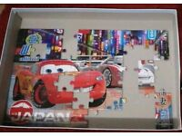 Disney Pizar Cars Puzzle in box.
