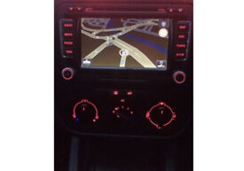Genuine VW RNS 510 DOUBLE DIN CADDY SCIROCCO PASSAT GOLF DVD PLAYER STEREO & CODE NOT SEAT RCD510