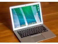 "13"" Apple MacBook Air Laptop 1.3Ghz Core i5 4GB 128GB SSD Logic Pro X Microsoft Office 2016 Reason"