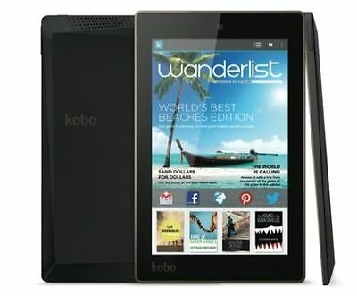 "Kobo ARC 7"" HD 32gb TABLET w/ charger , WiFi + USB CABLE. BUNDLE"