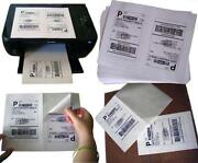 Shipping Labels Half Sheet
