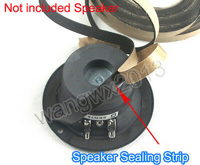 1PCS 1m Speaker Foam Seal Gasket Tape Strip Speaker EVA Sealing Strip 10x1mm