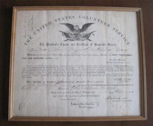 civil war discharge