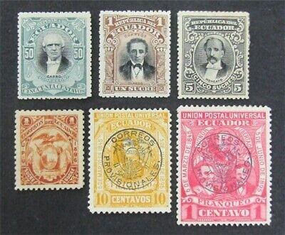 nystamps Ecuador Stamp # 62G//152 Mint OG H $32   L30y388