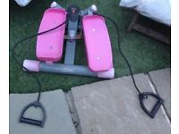 Lateral Thigh Trainer in pink Exercise Leg fitness Machine. Collect Friday Hill E4 6. or ig110