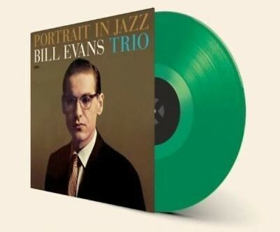 Bill Evans   Portrait In Jazz  New Vinyl Lp  Bonus Track  Colored Vinyl  Green