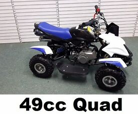 Quad 49cc Brand NEW Front Rear Disc Brakes