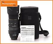 Canon 500mm Lens