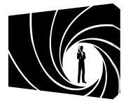 James Bond Canvas