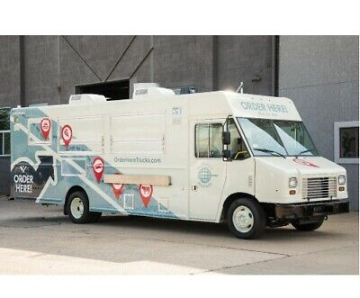 New Food Truck For Sale-- Includes Pizza Oven Ready To Go Pizza Truck