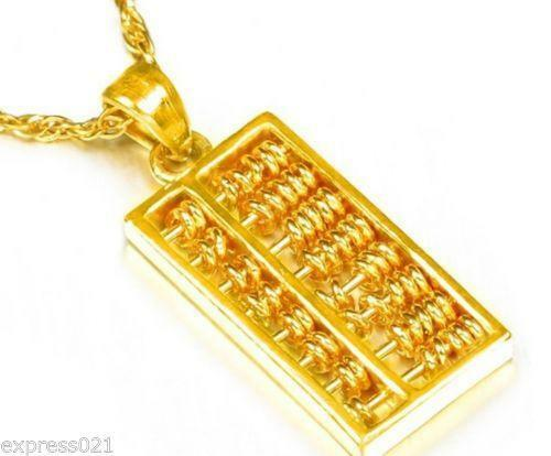 24k gold pendant ebay mozeypictures Gallery