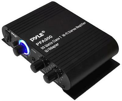 Pyle PFA300 90 Watts Class T HI-FI Stereo Amplifier W/ADAPTER