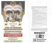 Michael Jackson Concert Ticket