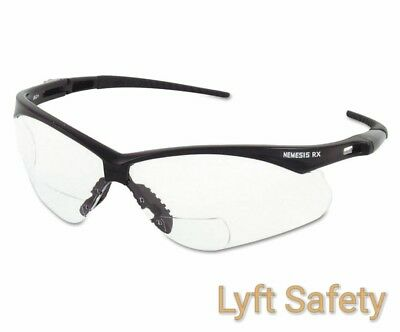 JACKSON NEMESIS 28621 V60 ANSI Rx +1.5 Diopters Readers Safety Glasses~PICK - Nemesis Rx Safety Glasses