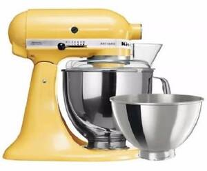 KITCHENAID ARTISAN KSM160 STAND MIXER - MAJESTIC YELLOW **NEW** South Perth South Perth Area Preview