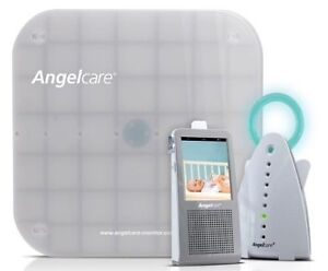 Angel care monitor with video and movement pad