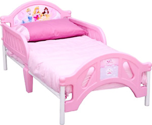 Toddler bed & mattress & Minnie mous  bedding