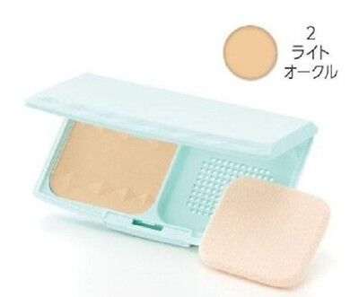 """F/S From JAPAN CEZANNE UV Foundation EX Plus EX2. Light Ochre """"with case"""""""