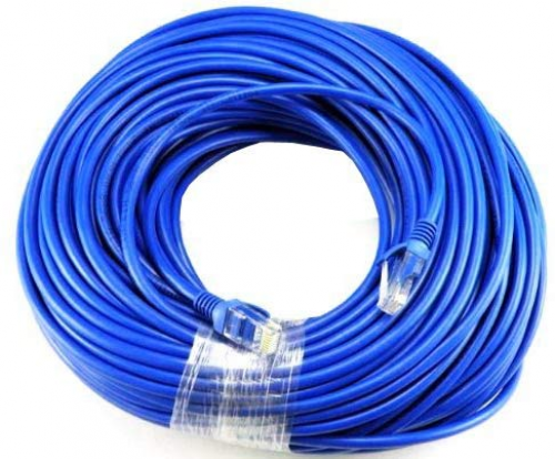 Ethernet Cable 50ft Cat5 Network Internet Router Modem Compu