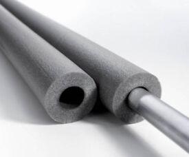 Foam Pipe Insulation / Lagging for copper plastic steel piping
