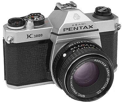 Asahi Pentax K1000 Camera Service Repair Manual