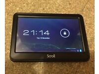 "scroll 4.3"" tablet"