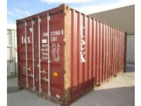 20ft Second Hand Shipping Container for sale in London