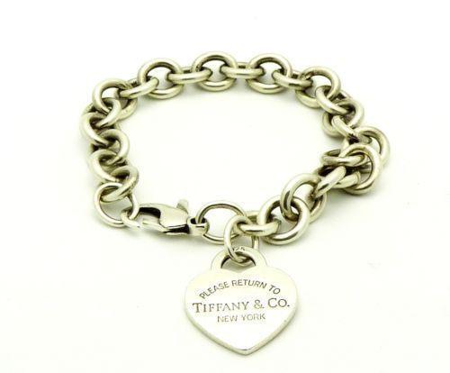 Bhp Tiffany Heart Bracelet Tiffany Charms For Sale