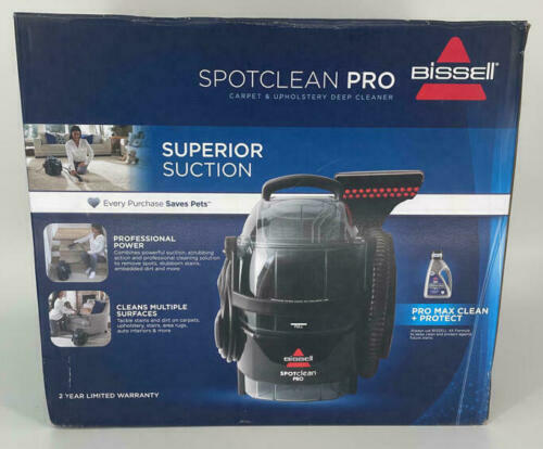 New BISSELL SpotClean Pro Portable Deep Cleaner 3624
