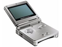 Nintendo Gameboy Advance SP in silver (w/ charger)