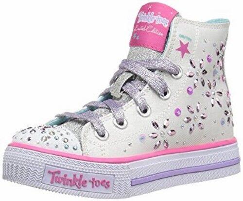 Skechers Kids' Twinkle Toes Sparkly Sweet Sneaker Pre/Grade