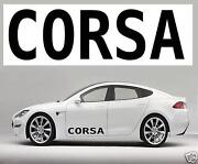 Corsa B Stickers