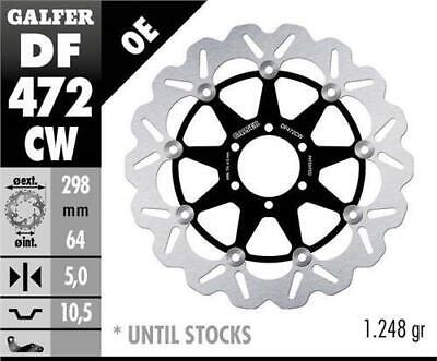 Galfer Standard Floating Wave Rotor with Aluminum Carrier #DF472CW
