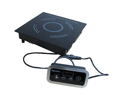 Adcraft Ind-dr120v Drop-in Remote Control Electric Induction Hot Plate